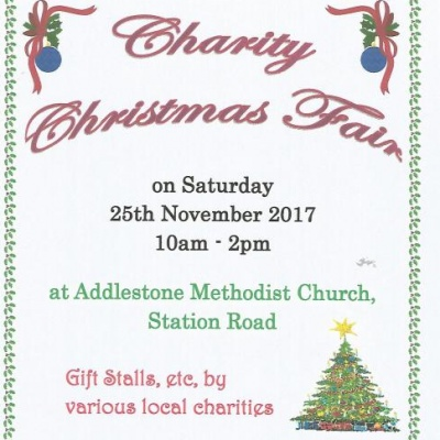 Addlestone Charity Christmas Fair - 2017