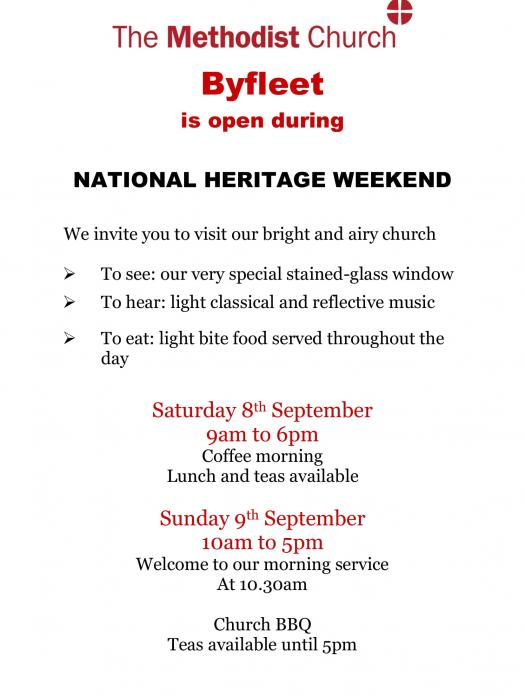 Byfleet Heritage Weekend