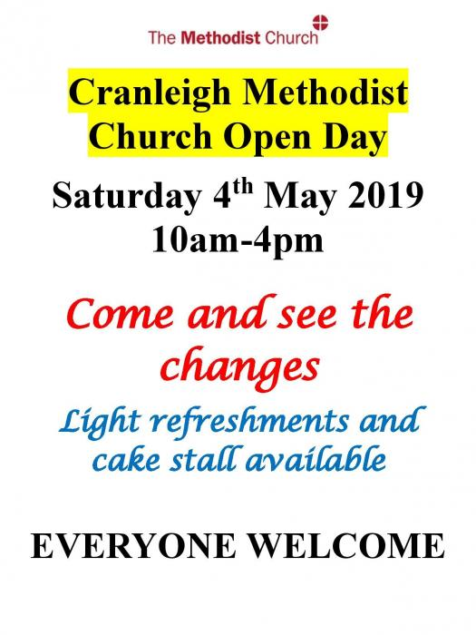 Church open day 4-5-19