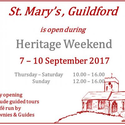 Heritage weekend 2017