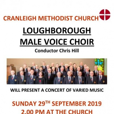 Loughborough male voice choir poster final