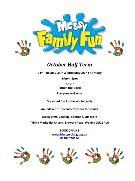 Messy Church Poster Oct 2017