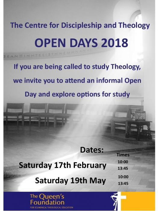 Open Day Flyer 2018