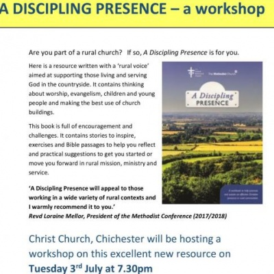 Presence Workshop Flier Chichester