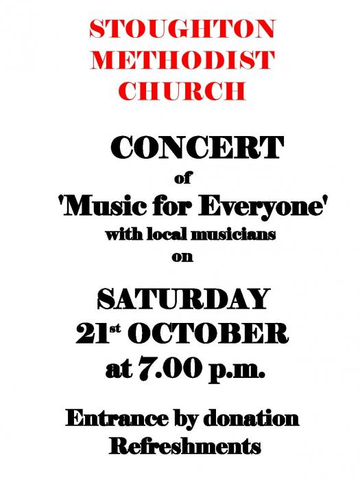 Stoughton Concert - October 2017